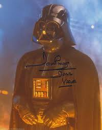DAVE PROWSE as Darth Vader - Star Wars GENUINE AUTOGRAPH