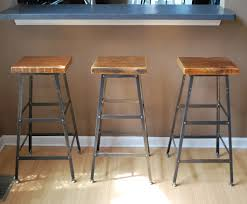industrial rustic design furniture. Rustic Industrial Wood And Metal Bar Stools With Square Seat No Back Design  Idea, Stylish Industrial Rustic Design Furniture