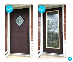 storm door inserts replace storm door glass insert glass door inserts and replacement glass for your storm door inserts