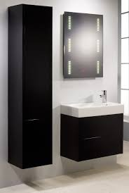 Captivating Black Bathroom Wall Storage Cabinet Accessories