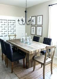 farmhouse dining table ideas decor room