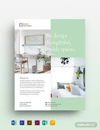 Interior Design Template Interior Design Flyer Template Word Psd Indesign