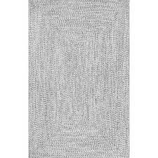 braided lefebvre salt and pepper indoor outdoor 8 ft 6 in x 11