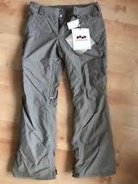 Details About Foursquare Craft Ins Womens Microshield Ski Snowboard Pants Walnut Khaki Size S