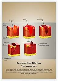 Dermatology Wound Healing Ms Word Template Is One Of The