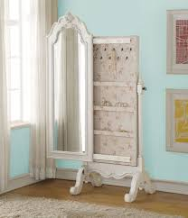White Armoire With Drawers32