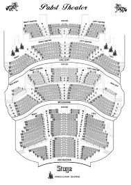 Pabst Theater Milwaukee Seating Chart Pabst Theater Seating Chart
