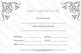 Free Printable Gift Certificates Template Printable Gift Certificates New 13 Free Printable Gift Certificate