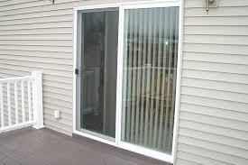 how to install glass patio door