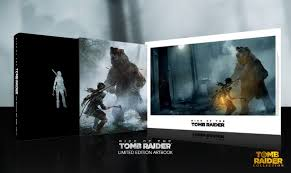 rise of the tomb raider the official art book limited edition tomb raider collection