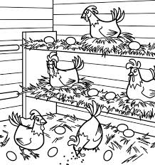 The Best Free Chicken Coloring Page Images Download From 563 Free