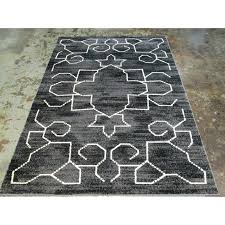 large black and white cowhide rug foundry select area