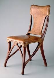 art nouveau furniture. art nouveau chair furniture