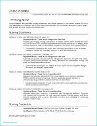 Nursing Student Resume Examples Beautiful Nursing Student Resume