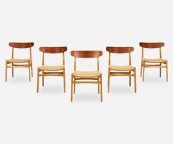 hans j wegner furniture. Hans J. Wegner CH-23 Dining Chairs For Carl Hansen \u0026 Søn J Furniture