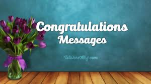 Congratulations Messages Best Congratulation Wishes And Messages
