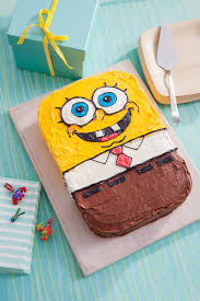 Spongebob Birthday Cake Recipe Nickelodeon Parents