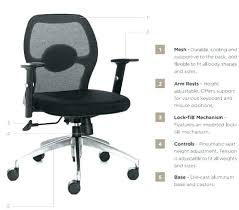 office chair controls. Office Chair Controls Low Back Features .