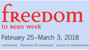 Image result for freedom to read week 2018