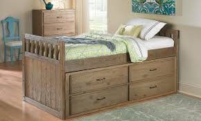 image of tucson twin captains bed