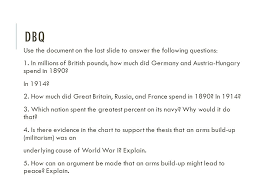 Causes Of World War I Wwi The Great War Ppt Download