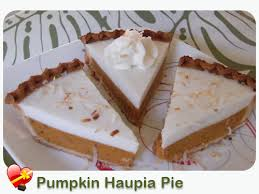 pumpkin haupia pie perfect for local style thanksgiving