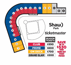 Benefits Of Owning Season Tickets Shaw Park Seating Map