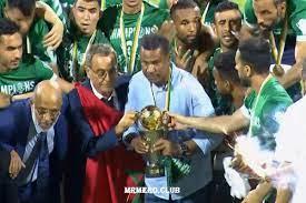 الرجاء البيضاوي يفوز على فريق شبيبة القبائل الجزائري ويتوج بكأس الكونفدرالية  الإفريقية - AlmghribAlarabi