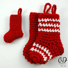 Crochet Stocking Pattern Gorgeous 48 Crochet Christmas Stockings AllFreeCrochet