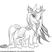 Unicorn Birthday Coloring Pages Getcoloringpagesorg