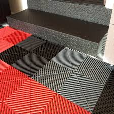the modular ribtrax garage floor tiles are durable easy to maintain and come with a full 15 year warranty these tiles stand up to snowy cold canadian