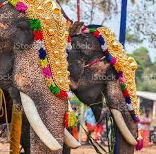 Hindutempel Am Festival Stockfoto ...
