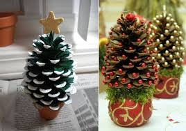 Easy Rustic Star Christmas Tree Ornament U2013 Cool Kid Craft Project Pine Cone Christmas Tree Craft Project
