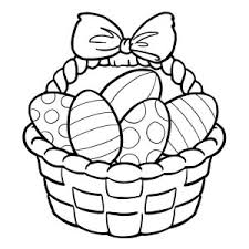 Small Picture A Tall Easter Basket Coloring Page Batch Coloring