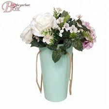 Paper Flower Bouquet In Vase Luxury Flower Bouquet Packaging Boxes Cardboard Paper Rose Gift Box Buy Flower Packaging Boxes Luxury Flower Box Rose Gift Box Product On