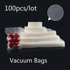 <b>100pcs</b>/<b>lot Vacuum Sealer</b> Bags for Food Vacuum Sealer Packing ...
