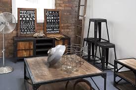 Industrial Style Living Room Furniture Contemporary Living Room Decorating Ideas Fortable Loft Furniture