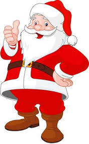 Image result for santa in the park clip art