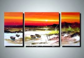 panel canvas wall art 3  on 3 panel wall art beach with 3 panel canvas wall art ethersummary fo