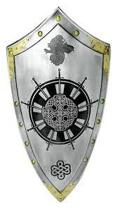 king arthur round table templar knight shield by marto