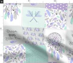 dream catcher patchwork quilt top