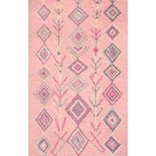 belini pink 7 ft 6 in x 9 ft 6 in area