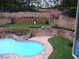 picture 5 of 50 landscaping wall ideas unique backyard retaining within outstanding backyard retaining wall applied