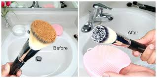 how to clean makeup brushes clean your makeup brushes at home clean your makeup brushes fast