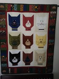 Caterday Quilts: March 8 - 24 Blocks | Cat quilts | Pinterest | 24 ... & These Feline-Themed Quilts Are The Cat's Meow! Adamdwight.com