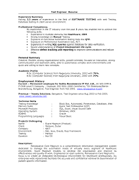 Download Automation Test Engineer Sample Resume Resume For Study