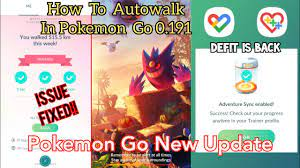 Adventure Sync Issue Fixed | Autowalk With DeFit | How To Autowalk in Pokemon  Go 0.191 Version - YouTube