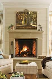 Cozy fireplaces ideas for home Designs Comforting Fireplace Mantels Southern Living Dress Your Mantel For Winter