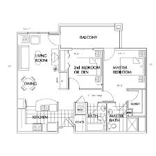 2 bedroom flats plans. 2 bedroom apt flats plans o