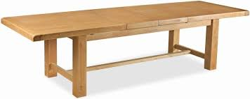 oak dining table. Global Home Vintage Oak Dining Table - Extending